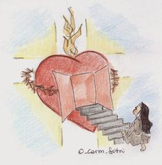Vocazione Carmelitana Pictures Of Christ, Jesus Christ Images, Jesus Is Life, Heart Of Jesus, Catholic Prayers, Catholic Art, I Love You God, Jesus Mary And Joseph, Bride Of Christ