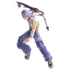 Riku - Kingdom Hearts II Play Arts Kai on Crunchyroll
