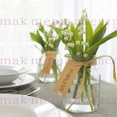 Namenschild am Marmeladenglas oder am Maiglöckchenglas?