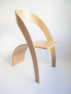 exhibition Usit stepladder/chair design during Salone del Mobile 2014 - Product - Counterpoise lounge chair