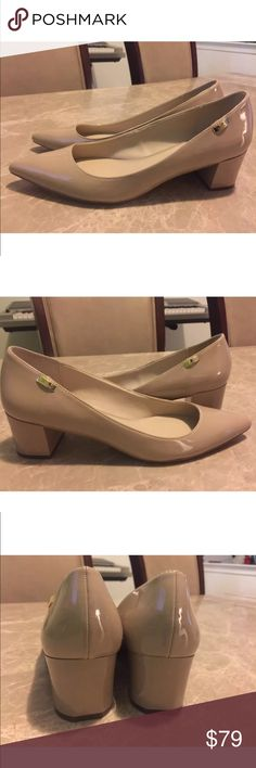 New Calvin Klein Necee Ladies Dress Pump Shoes New Calvin Klein Necee Ladies Dress Pump Shoes Size 9 brand new without box Calvin Klein Shoes Heels