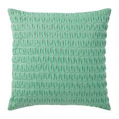 Company C Pillow Colonnade Aqua   @Rue Magazine Jan 2012