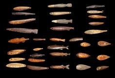 thetypologist:  Typology of ivory fish weights from the Bering Sea. Steven Michaan collection.