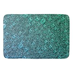 Dark Forest Green Bath Mat Home Decor Design Art Diy Cyo Custom - Dark teal bath rug for bathroom decorating ideas