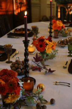Thanksgiving table  slimpaley.com