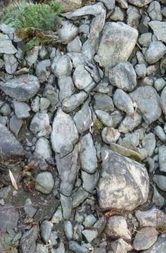 nice.. hidden rock sculpture :)