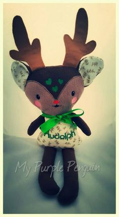 Check out this item in my Etsy shop https://www.etsy.com/uk/listing/462850494/rudolph-soft-toy