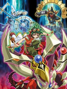 Yu-Gi-Oh! Arc-V  Haven't seen it yet but I hope it's better Than Zexal I hated Zexal with a passion!!
