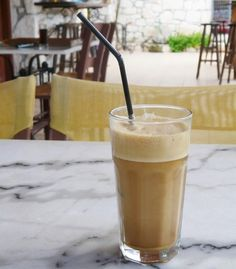 Photos: A Caffeine Addict's Guide to the World | Greece: Frappé  The ubiquitous foam-topped iced drink is made with Nescafé instant coffee, cold water, sugar, and evaporated (or regular) milk—and always served with a straw.