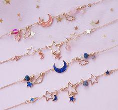 Kawaii Jewelry, Kawaii Accessories, Jewelry Accessories, Fashion Accessories, Fashion Jewelry, Jewelry Design, Hipster Accessories, Stylish Jewelry, Cute Jewelry