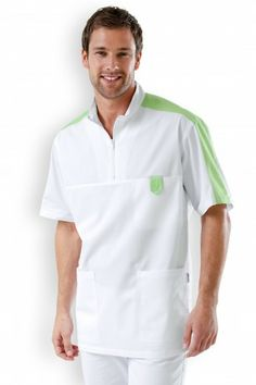 Dental Scrubs, Dental Shirts, Scrubs Uniform, Men In Uniform, Doctor Coat, White Coat Outfit, Corporate Wear, Medical Uniforms, Stylish Coat