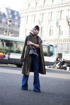 Single handedly bringing back the headscarf