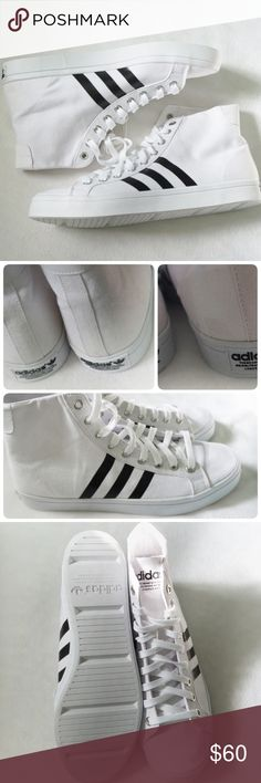LISTING ADIDAS COURTVANTAGE MID SIZE 12MEN -BRAND NEW IN BOX -COLOR WHITE  153eed81b