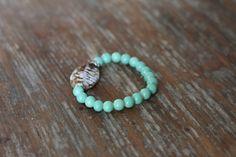 Stackable Stone Bracelet by MissBJewelryDesign on Etsy https://www.etsy.com/listing/210281870/stackable-stone-bracelet