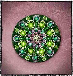 inspiration for dot painting mandalas