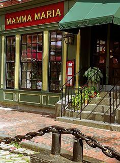 "North Square ""Little Italy - Mamma Maria"" ~ Boston, Massachusetts"