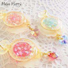 Magical Girl Glitter pocket watch ✡:. *