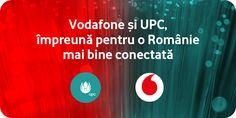 Vodafone si UPC impreuna inseamna o Romanie mai bine conectata