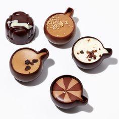 カフェをイメージしたショコラの詰め合わせ。【バレンタインデー届け専用】カフェ ショコラ(9個入)