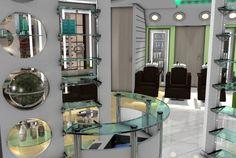 Salon de coiffure, variante