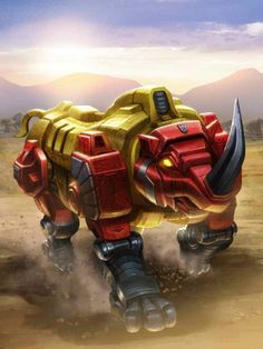 Predacon Headstrong Artwork From Transformers Legends Game