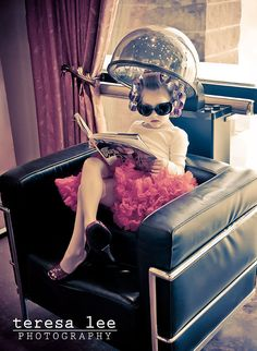 I SO REMEMBER A DAY AT THE BEAUTY SHOP...RECLINING IN THE BIG PLUSH CHAIR UNDER THE DRYER.  COOL!  SH
