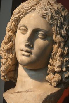 Head thought to be Alexander the Great, A.D. 175-200, Archaeological Museum, Thessaloniki, Greece, 2011