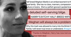 If you are surprised that Meghan Markle and Prince Harry have followed through with their exit from the working monarchy, you have not been paying attention. Since their relationship was made public, the British press has targeted Markle with an obvious undercurrent of racism, classism, and sexism. To the point that she had to sue […] The post Leave Meghan Markle TF Alone appeared first on Scary Mommy.