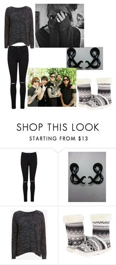 """""""when you can't sleep at night (om&m)"""" by wintergarden1024 ❤ liked on Polyvore featuring Miss Selfridge, rag & bone/JEAN, M&F Western and ADAM"""