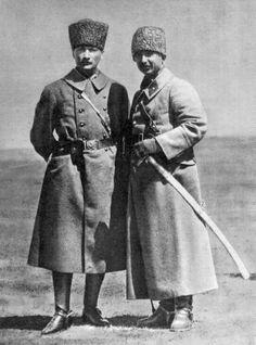 Atatürk and İnönü