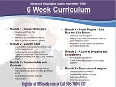 Our Advanced Strategy Course Syllabus - Starts Nov 13th - Want in? http://socialmediabymichelle.com/IS2012Courses-advancedstrategies.html