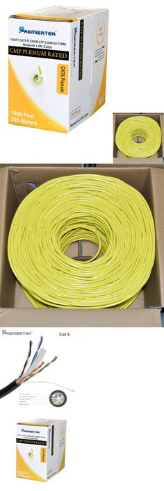 1ft CAT6 Ethernet Network LAN Patch Cable Cord 550 MHz Yellow 100 Pack Lot