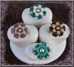 Pattern bijoux: Anello Violetta