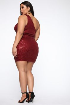 Stayed In My Lane Dress - Burgundy – Fashion Nova Source by clothes canada Curvy Outfits, Sexy Outfits, Plus Size Outfits, Trendy Outfits, Plus Size Clothing Stores, Plus Size Womens Clothing, Clothes For Women, Curvy Clothes, Burgundy Fashion