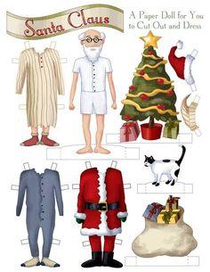 Recortables de lo más navideños