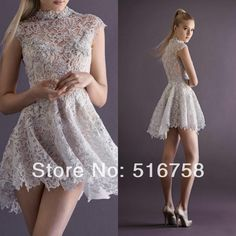 Cheap dress pakistan, Buy Quality dresses spain directly from China dress quotes Suppliers:High Collar Cap Sleeve Beaded Lace Short Mini Party Dress 2014 New Arrival Cheap Sexy Prom Dresses5 stars feedback we go