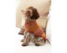 Proud Puppy Dog Sweater Pattern (Knit)