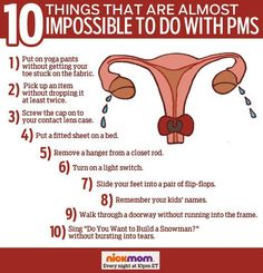 There Are 45 Million Things Impossible to Do With PMS. We Just Picked These 10 | More LOLs & Funny Stuff for Moms | NickMom
