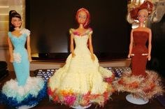 free patern Ladyfingers - Barbie - Strapless Gown, Jacket, Hat & Purse