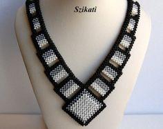 Items similar to FREE SHIPPING!!! White Seed Bead Cuff Bracelet, Statement Beadwork, Bridal Bracelet, Elegant Women's Beadwoven Jewelry, Gift for Women, OOAK on Etsy