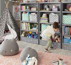 Uma estante no quarto é super útil para organizar os brinquedos e livros. Mas arrumando a estante das crianças, o quarto fica mais charmoso! Veja algumas idéias: More from my […]