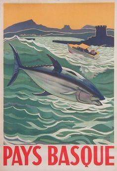Pays Basque by Garcia Julio ca. 1940