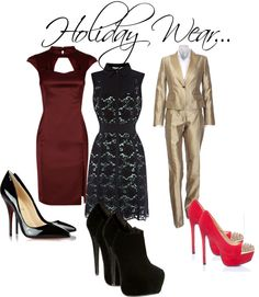 """""""Holiday Wear"""" by arstylists on Polyvore"""