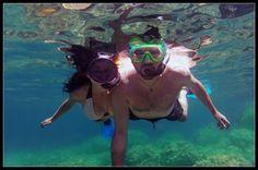 Viaje de buceo por las calas más bonitas de Ibiza. Usé mi cámara Go Pro Hero2.