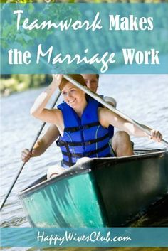 Teamwork Makes the Marriage Work - Happy Wives Club Strong Marriage, Marriage Relationship, Happy Marriage, Relationships, Encouragement For Today, Hobby Horse, Teamwork, Fun Activities, A Team