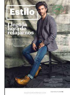 Osvaldo Benavides por Ricardo Urroz para Esquire México