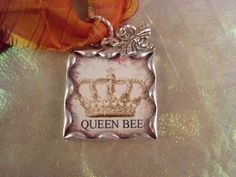 Queen Bee- that would be ME!  I want this charm!!!!