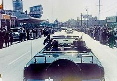 JFK,two minutes before his death...