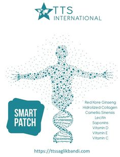 Smart Patch - TTS STAR SAĞLIK BANDI Etken maddelerinden oluşan tek bir transdermal bant olarak kullanıma hazır. Kullanım şekli: Tek kullanımlık olan transdermal bantlar tüysüz, temiz, kuru ve cilt bütünlüğü bozulmamış deriye yapıştırılarak kullanılır.  Her bir bant 48 saat etkilidir. Paket içerisnde 40  günlük kullanım mevcuttur. Kırmızı Ginseng özlü, Uzak doğunun gizemli şifalarını içinde barındıran  akıllı bant, şimdi TTS INTERNATIONAL ayrıcalıkları ile sizlerle.  İlaç değildir. Vitamin D, Collagen, Patches