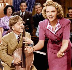 """mis actrices preferidas — Mickey Rooney-Judy Garland """"Los hijos de la... Judy Garland, Sons, Actresses"""